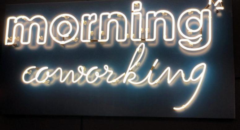 Morning coworking nouveaux locaux